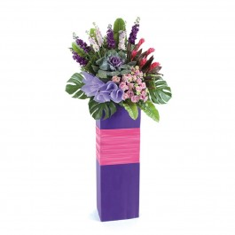 Congratulatory Flower Stand - Blooming Pursuits. Deluxe, Congratulatory Flower Stand - Blooming Pursuits. Deluxe