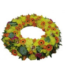 Corona fúnebre, SI#3901 Corona fúnebre