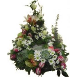 Corona fúnebre, SI#3911 Corona fúnebre