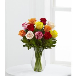 The FTD® Enchanting™ Rose Bouquet, The FTD® Enchanting™ Rose Bouquet