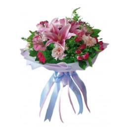 Ramo de flores de temporada, TH#4102 Ramo de flores de temporada