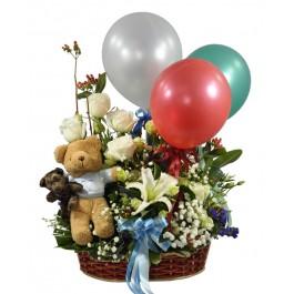 Basket of Flowers, Basket of Flowers