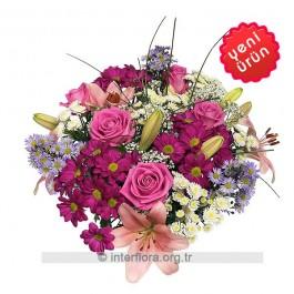 Bouquet of Cut Flowers, TR#4216 Bouquet of Cut Flowers
