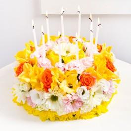Flower Cake, Flower Cake