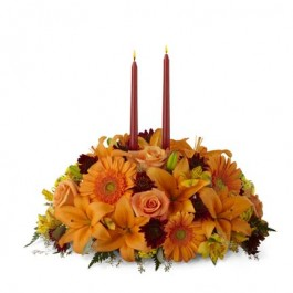 Bright Autumn Centerpiece, US#B4-4112 Bright Autumn Centerpiece