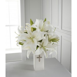 The FTD Faithful Blessings Bouquet - VASE INCLUDED, US#FBB The FTD Faithful Blessings Bouquet - VASE INCLUDED