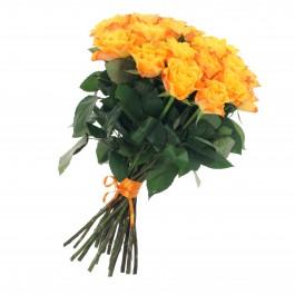 Bunch of 21 yellow roses, Bunch of 21 yellow roses