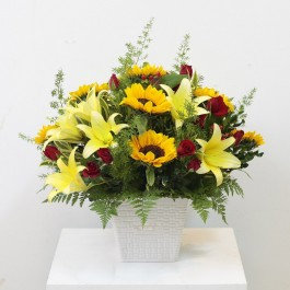 Yellow and Red Arrangement, Yellow and Red Arrangement