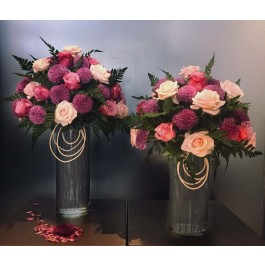 Two vases for wedding anniversary, Two vases for wedding anniversary
