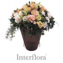 Arreglo mixto (pottery vase included), ZA#G02 Arreglo mixto (pottery vase included)