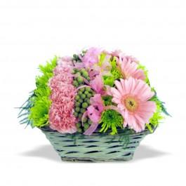 Fleurs Pink Basket, Fleurs Pink Basket