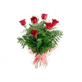 6 rosas de tallo large, IE#6RL 6 rosas de tallo large