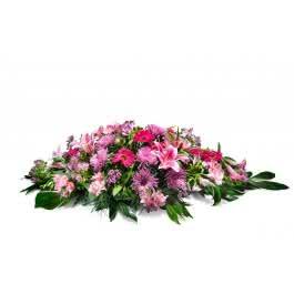 Almohadón rosa, Almohadón en tonos rosas