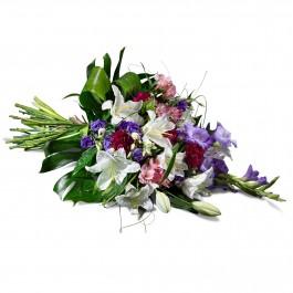 funeral sheaf with ribbon, FR#FSHR.funeral sheaf with ribbon