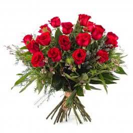 Pasión, 18 Rosas Rojas  de Tallo Largo