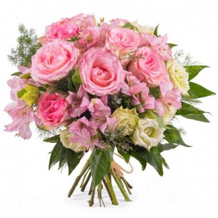 Esperanza, Ramo en tonos rosas