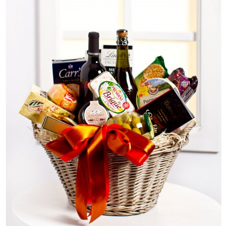 Luxurious Gourmet Gift Basket, EE#EE902 Luxurious Gourmet Gift Basket