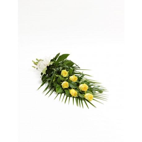 Simple Rose Sheaf  Yellow, GB#500438.Simple Rose Sheaf  Yellow