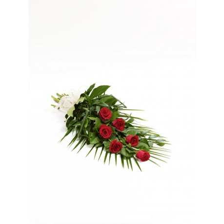 Simple Rose Sheaf  Red, GB#500439.Simple Rose Sheaf  Red