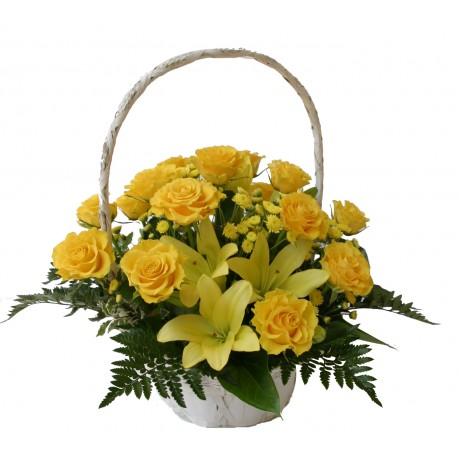 Cesta de flores, HU#BKT Cesta de flores