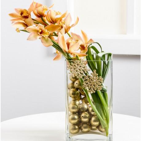 Karácsonyi dekorációs orchideával, Karácsonyi dekorációs orchideával