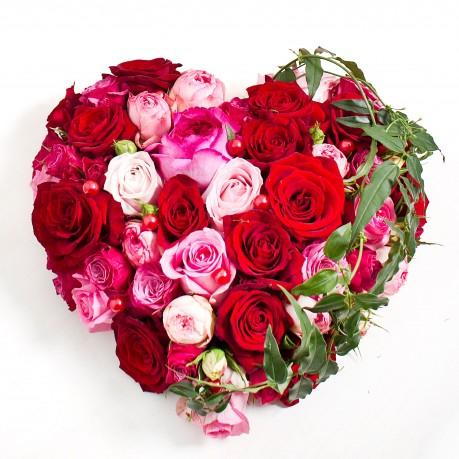 Szív alakú virágtál szerelmednek, Szív alakú virágtál szerelmednek