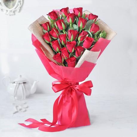 Majestic Red Rose Bouquet, Majestic Red Rose Bouquet