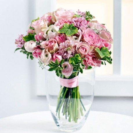Beautiful Bouquet in Pastel Colours, LT#EE324 Beautiful Bouquet in Pastel Colours