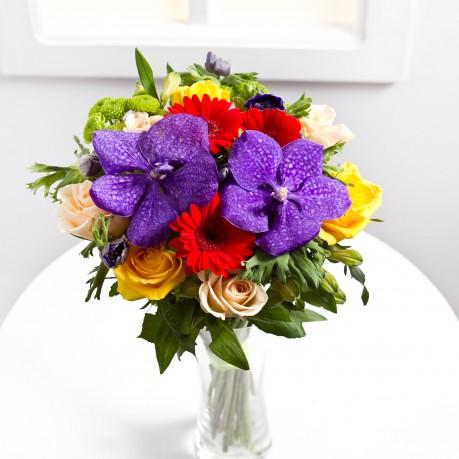 Colourful seasonal bouquet, LV#EE311 Colourful seasonal bouquet