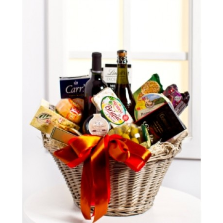 Luxurious Gourmet Gift Basket, LV#EE902 Luxurious Gourmet Gift Basket