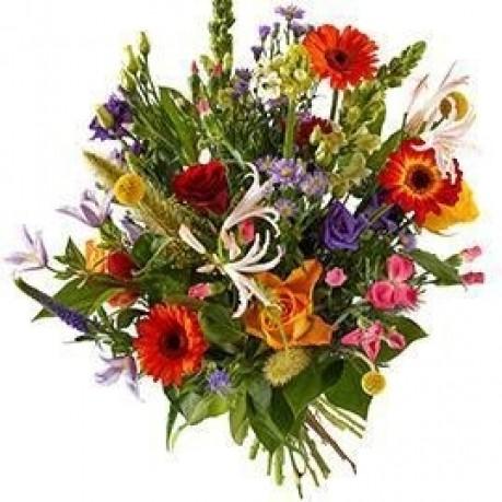 Bouquet Colourful mix; excl. vase, Bouquet Colourful mix; excl. vase