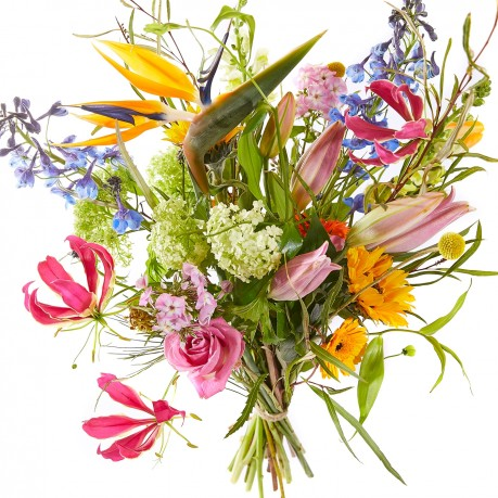 Spring bouquet: Enjoy your day, Spring bouquet: Enjoy your day