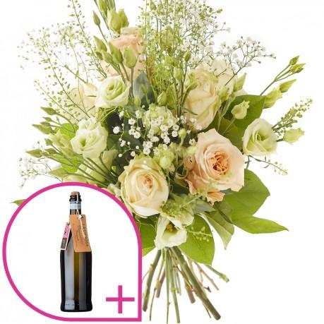 Bouquet: Bruisend en prosecco., Bouquet: Bruisend en prosecco.