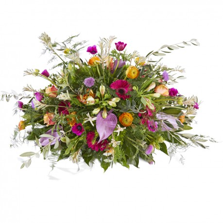 Funeral: Precious Funeral Bouquet Oval, Funeral: Precious Funeral Bouquet Oval