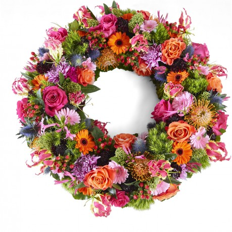 Funeral: Beautiful moments Funeral Bouquet Garland, Funeral: Beautiful moments Funeral Bouquet Garland