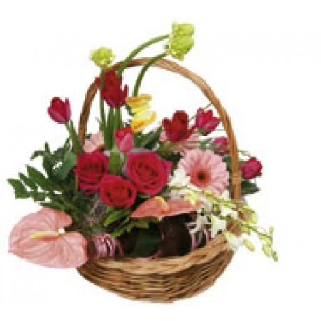 "Basket Arrangement ""Rendezvous"", RU#3304 Basket Arrangement"