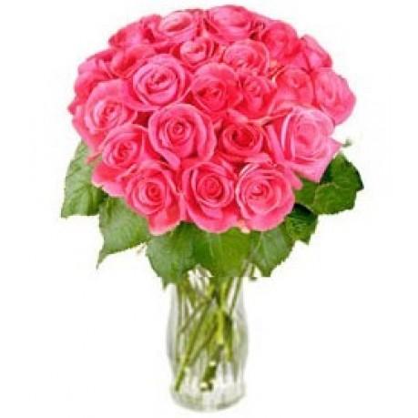 """Ramo de rosas rosadas """"Sueños atractivos"""" (sin jarrón), RU#RU_06053 Ramo de rosas rosadas"""