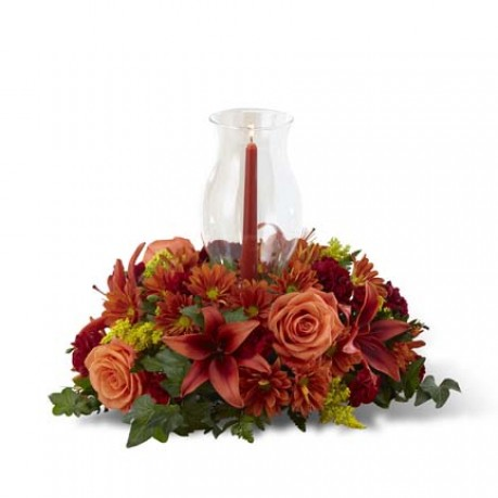 The FTD Heart of the Harvest Centerpiece, US#B6-4955 The FTD Heart of the Harvest Centerpiece