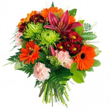 Ramo de flor abigarrado, AU#MCF Ramo de flor abigarrado