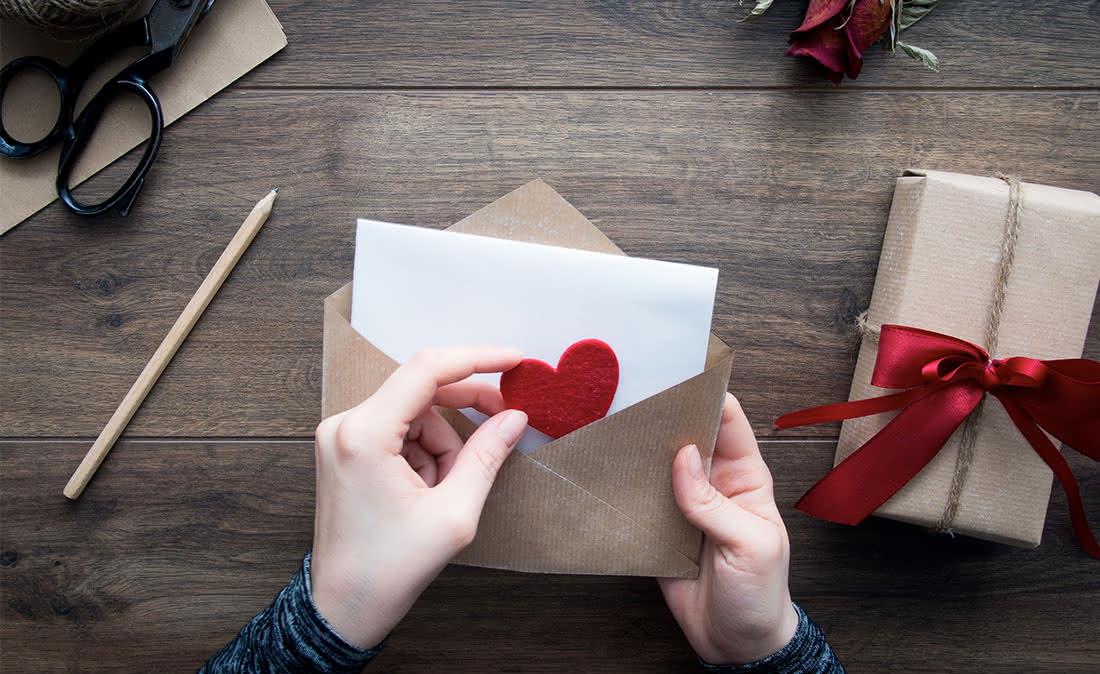 El 14 de febrero escríbele una carta