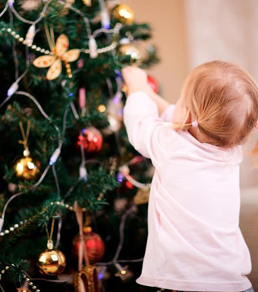 Árboles naturales de Navidad para sorprender a los niños