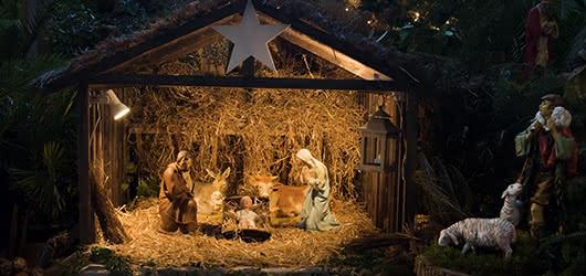 Árbol de Navidad y Belén, protagonizan la decoración navideña