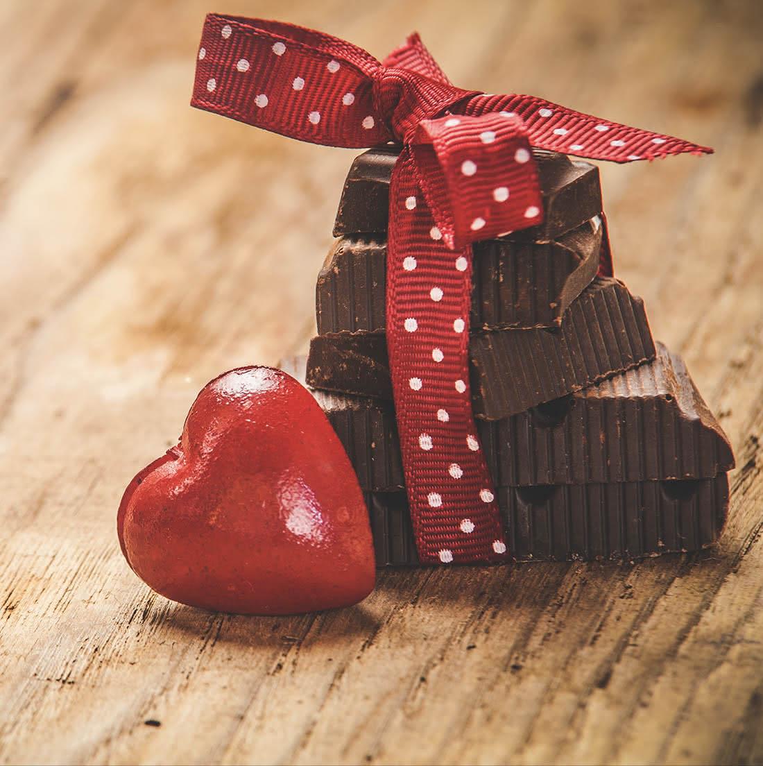 Origen de regalar chocolate por San Valentín