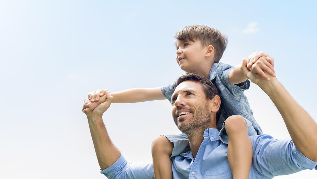 Planes para un Día del Padre en familia redondo