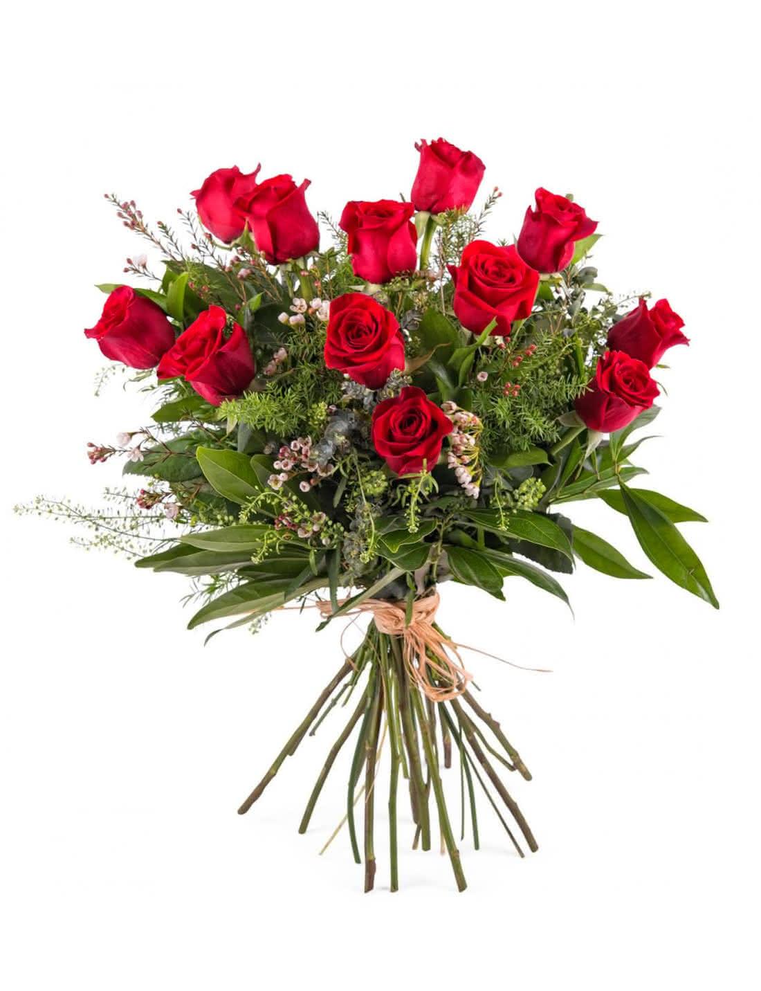 Ramos de flores frescas para regalar por San Valentín