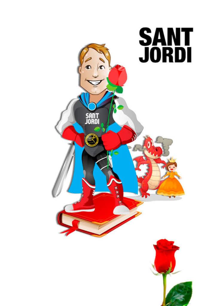 Blog Interflora - Día de Sant Jordi. 23 de Abril