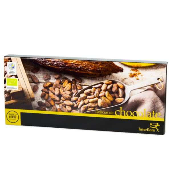 Chocolate Gaia & Coast para regalar en San Valentín