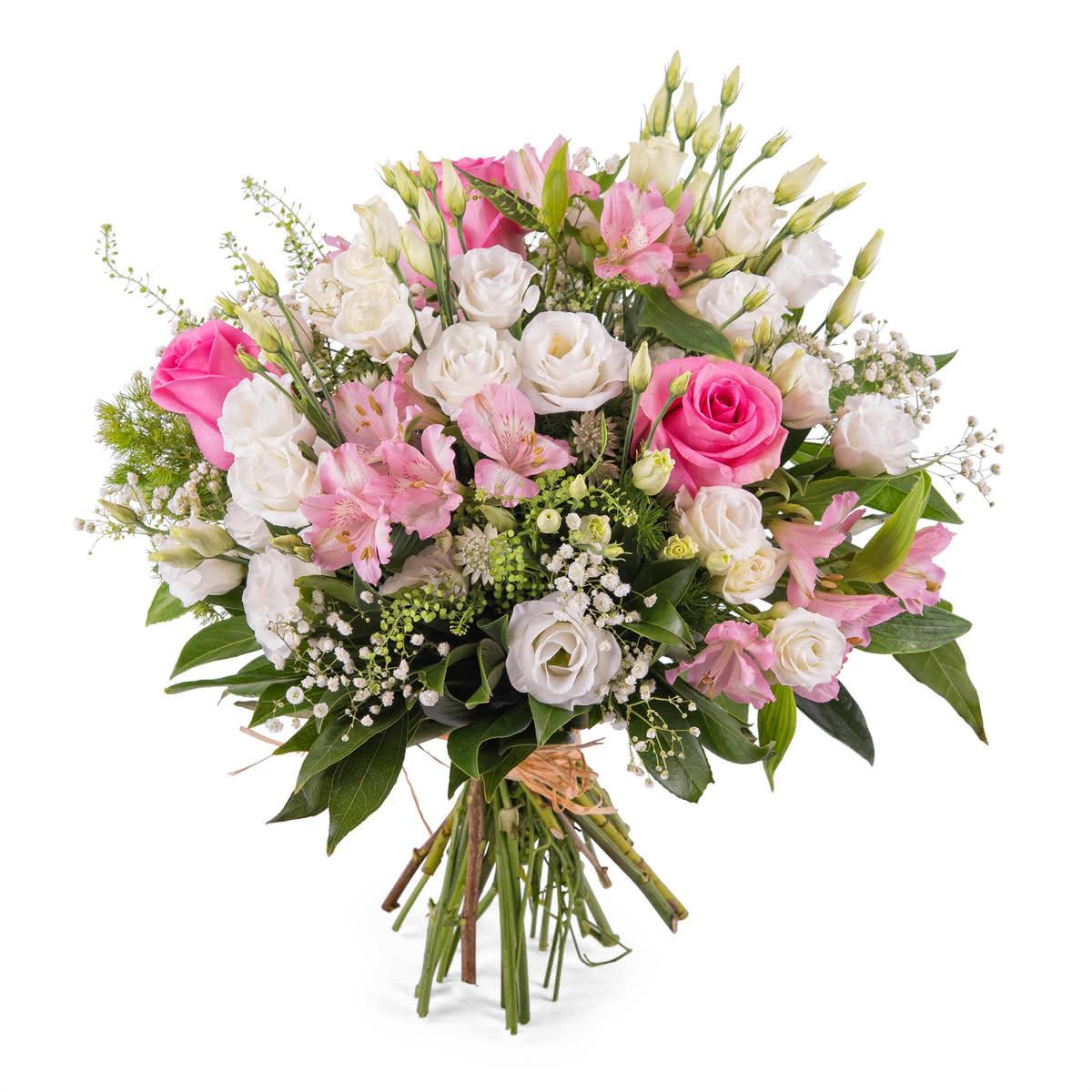 Templanza, ramo variado romántico