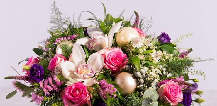 Enviar flores de navidad a domicilio