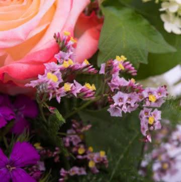 Enviar ramo veraniego con rosas